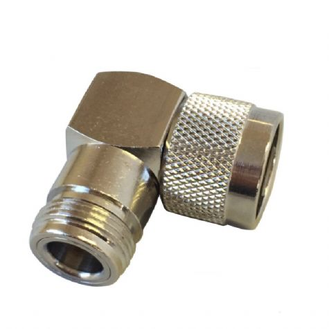 N Type Male Plug to N Type Female Jack Right Angle Adaptor (CF.95/R)