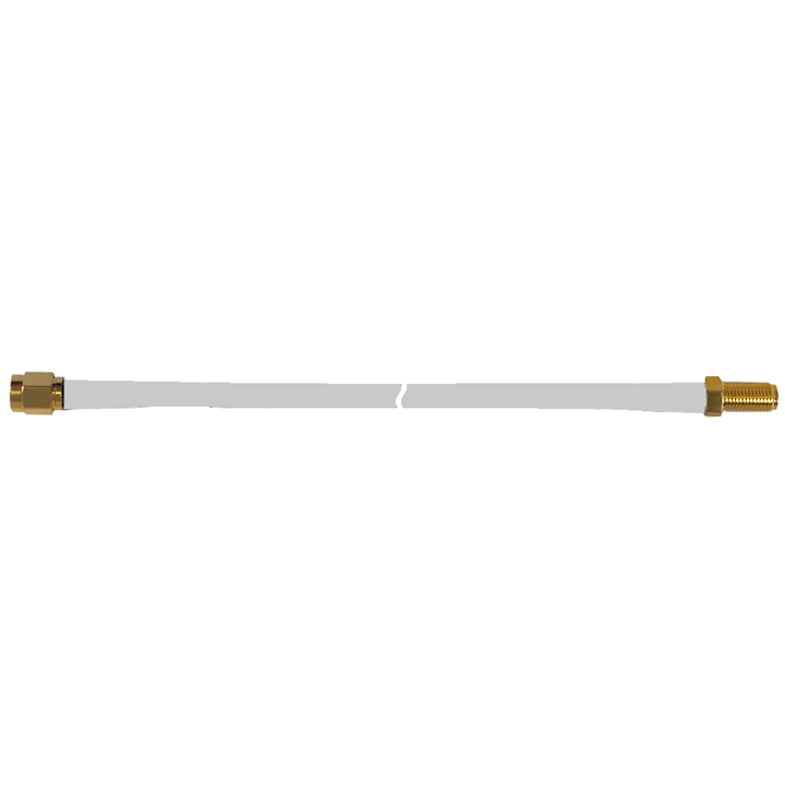 SMA Female - SMA Male RG58 White Cable Extension (10m) (CW23S-10SP)
