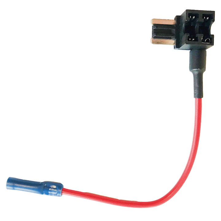 Micro Add-A-Circuit Blade Fuse Holder Red 20amp