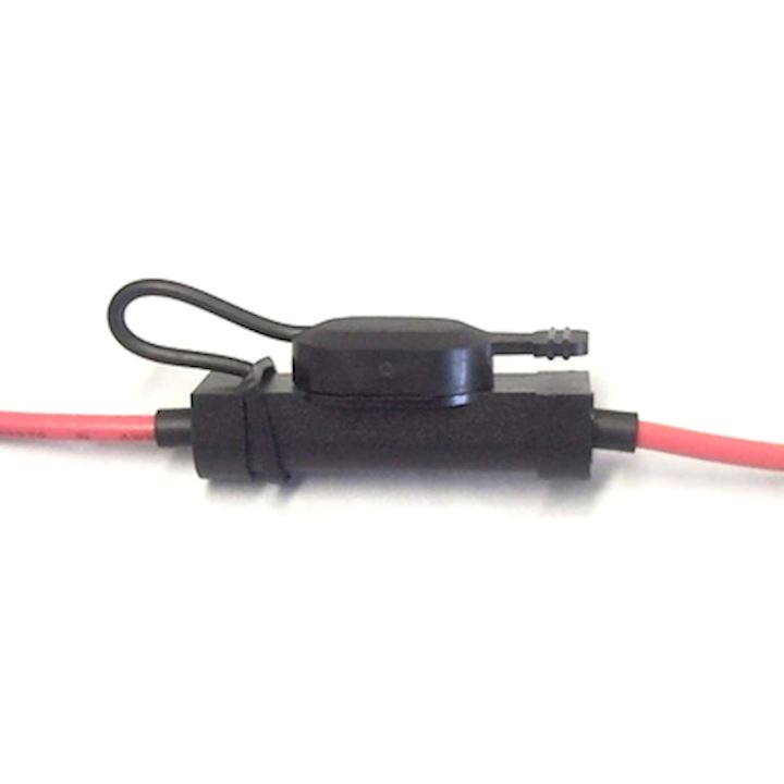 Blade Fuse Holder Low Profile 20amp Red (IFHLP.6/RED-1)