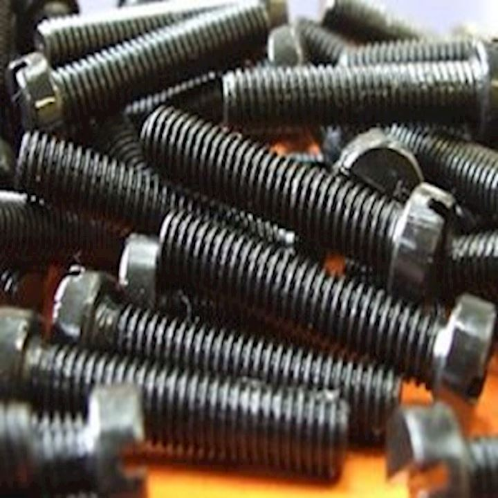 M5 X 35mm Machine Screws Slotted Black (MET.8)