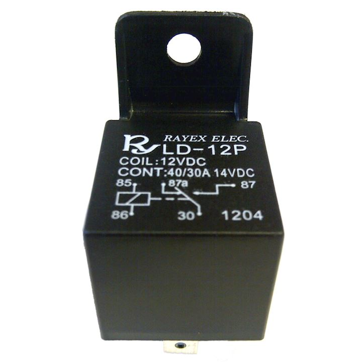 Changeover Relay 12V 5pin 30/40amp (R.255)