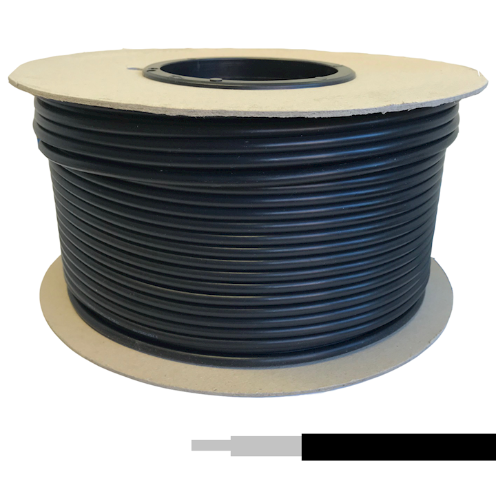 Coaxial Cable - RG58/U Low Loss Black (100m) (CRG.58)