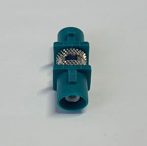 FAKRA Male to FAKRA Male Waterblue Antenna Adaptor (CFF.NEUP-NEUP)