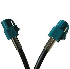 HSD Code Z Water Blue Female to Female 5 meter cable assembly (HSDC500CM-ZF-ZF)