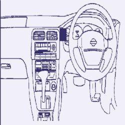 Dashmount 71751 Nissan 200SX 1995 >