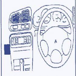 Dashmount 71875 Mitsubishi Galant 1993 - 1996