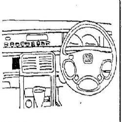 Dashmount 71886 Honda Prelude 1993-1996