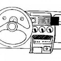 Dashmount 71939 Vauxhall Corsa 1991-1992