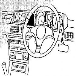Dashmount 71976 Mitsubishi Shogun LWB 1991