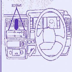 Dashmount 71989 Nissan King Van 1990-1991
