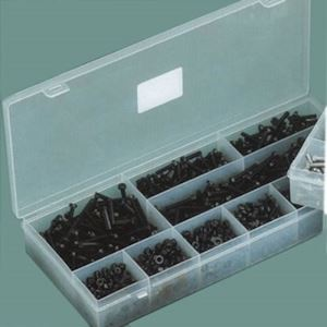 Assorted Metric Screws & Nuts Black