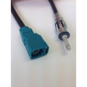 FAKRA female code Z to DIN 41585 male adapter cable (A.2340.02)