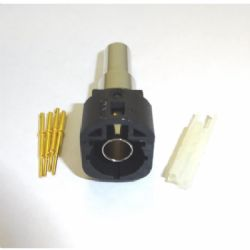 HSD CODE A BLACK MALE CRIMP (HSD-02DA535APGN)