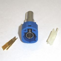 HSD CODE C BLUE MALE CRIMP