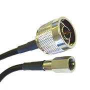 FME Male - N Male RG58 Cable Extension (1m) (C23FP-1NP)