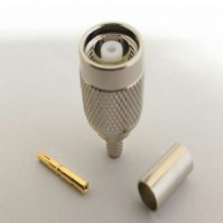 TNC Reverse Polarity Male RG58 Crimp Connector (C5053RP)