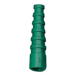 RG58 Coaxial Cable Strain Relief Boot Green (CB58/GRN)