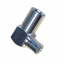 FME Male - SMB Female Right Angle Antenna Adaptor