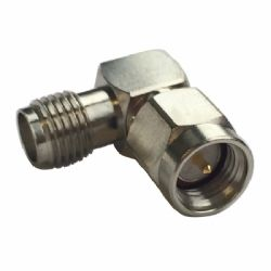 SMA Male - SMA Female Right Angle Connector