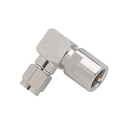 FME Male - SMA Male Right Angle Antenna Adaptor (CF.26)