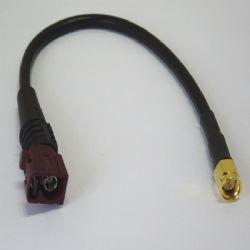 FAKRA GSM (Female) - SMA (Male) 200mm RG58 (FC.GSMF-SMAM200)