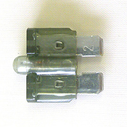 Blade Fuse With LED 2amp (FBI.2)