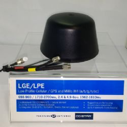 Low Profile 2G/3G/4G Antenna with WiFi and GPS (LGE-7-27-24-58)