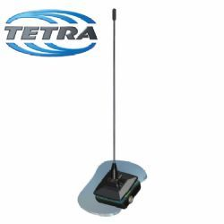 Glass Mount TETRA Antenna 380-400MHz (GM.390-5BP)