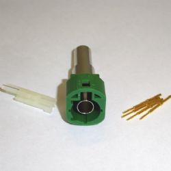 HSD CODE E GREEN MALE CRIMP (HSD-02DA535EPGN)
