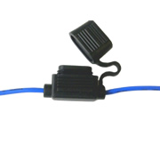 In Line Blade Fuse Holder - Blue (IFH.6C/BLUE-1)