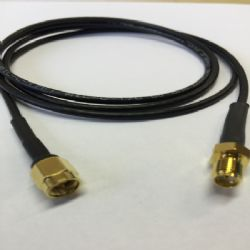 SMA Male - SMA Female Antenna Adaptor Cable (1m)