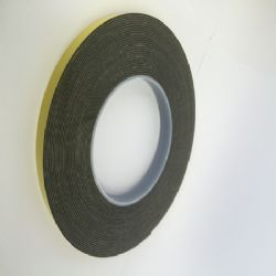 Double Sided Tape HSA Black 12mm x 10m