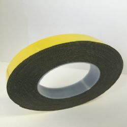 Double Sided Tape HSA Black 25mm x 10m