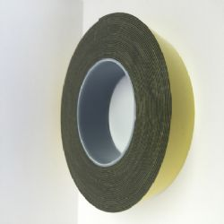 Double Sided Tape HSA Black 50mm x 10m