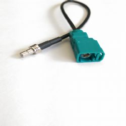Fakra Female Code Z to SMB Male Adaptor Cable (A.2916-XX)