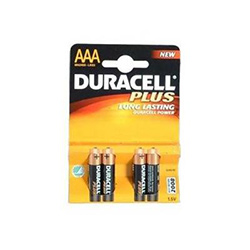 Duracell Batteries AAA 4pack (LRD-AAA)