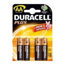 Duracell Batteries AA 4pack (LRD-AA)