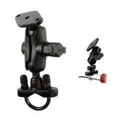 "(RAM-B-149ZA) U-Bolt Mount with Short 1"" Ball Arm and Diamond Base"
