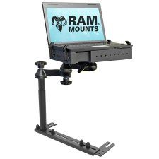 (RAM-VB-196-1SW1) Universal No Drill RHD Vehicle Laptop Mount