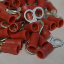 5.3mm Ring Terminal - Red
