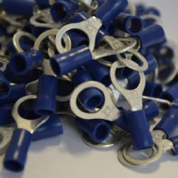 6.4mm Ring Terminal - Blue (WT.26)
