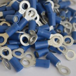 5.3mm Ring Terminal - Blue