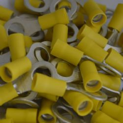 8.4mm Ring Terminal - Yellow (WT.8)
