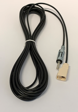 AM / FM / Extension antenna cable from Fakra to DIN (radio connection) (A.2460.01)