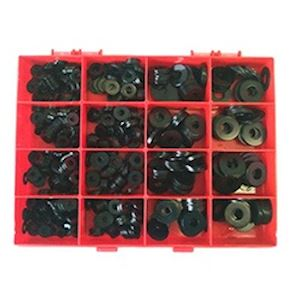 Assorted Flat Washers Black (AB.2)