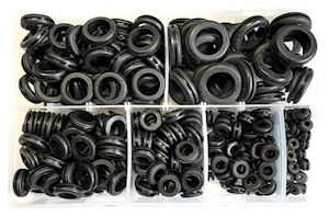 Assorted Wiring Grommets Black (AB.53)