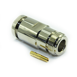 'N' Series Female Solder Connector (RG213) (C5064F)