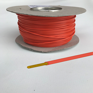 Automotive/Marine Cable Single Core - Orange - 8.75amp  (CAB.2RAN)