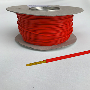 Automotive/Marine Cable Single Core - Red - 8.75amp